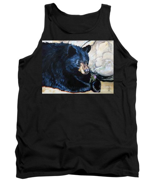 Big B And Little Bee Tank Top by J W Baker