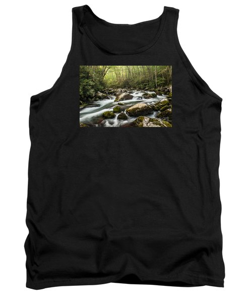 Tank Top featuring the photograph Big Creek by Debbie Green