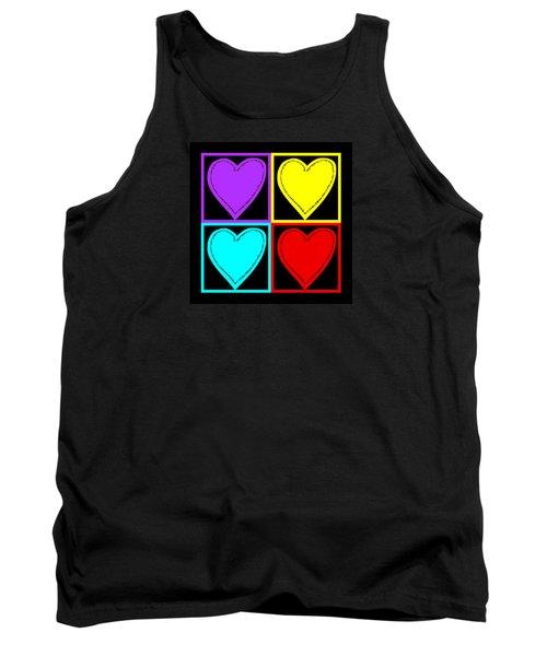 Big Hearts I Tank Top