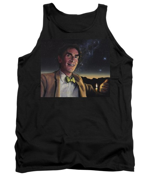 Bill Nye - A Candle In The Dark Tank Top