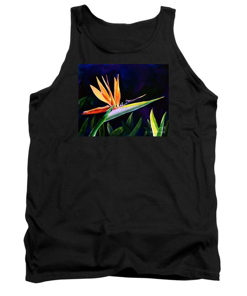 Bird Of Paradise Tank Top by AnnaJo Vahle
