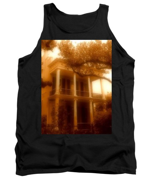 Birthplace Of A Vampire In New Orleans, Louisiana Tank Top by Michael Hoard