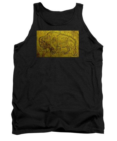 Golden  Buffalo Tank Top