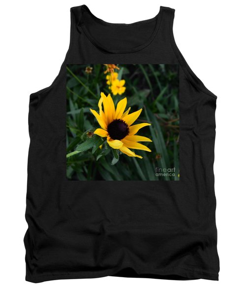 Tank Top featuring the photograph Black-eyed Susan Glows With Cheer by Luther Fine Art