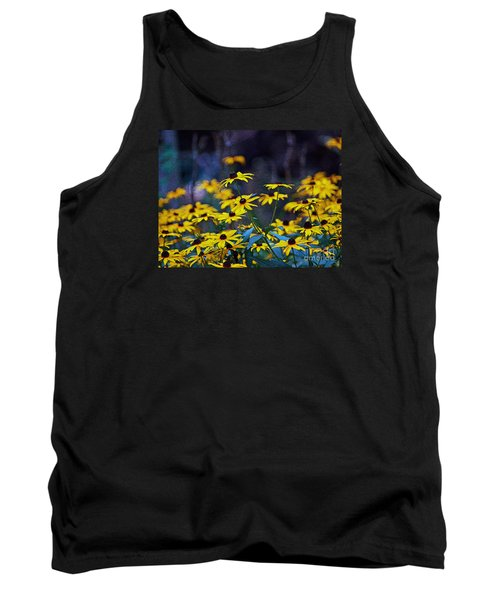 Black-eyed Susans Tank Top by Patricia Griffin Brett