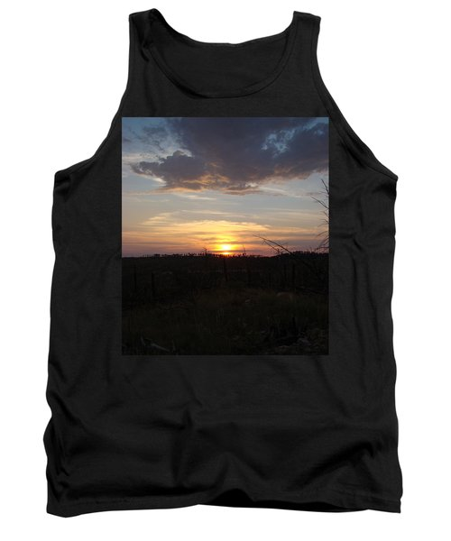 Tank Top featuring the photograph Black Hills Sunset IIi by Cathy Anderson