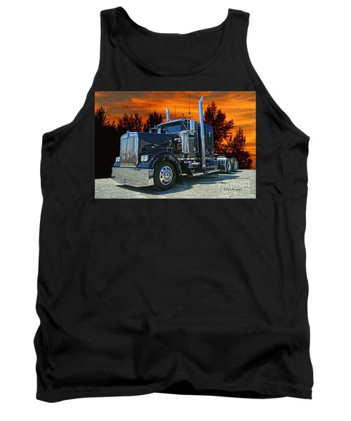 Black Kenworth Tank Top