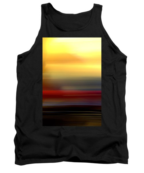 Black Red Yellow Tank Top