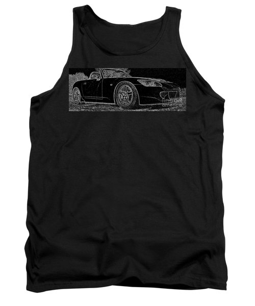 Black S2000 Tank Top by Eric Liller