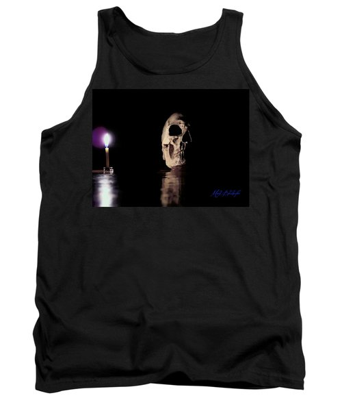 Tank Top featuring the photograph Blackbeard's Skull by Mark Blauhoefer