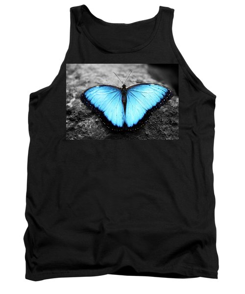 Blue Angel Butterfly 2 Tank Top
