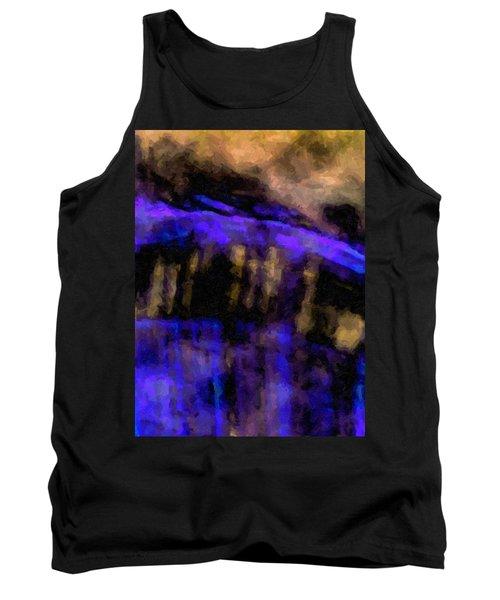 Blue Cliff Tank Top