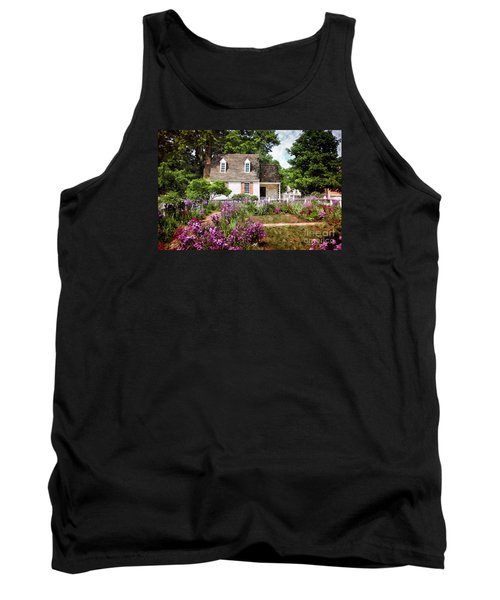 Blue Cottage Tank Top