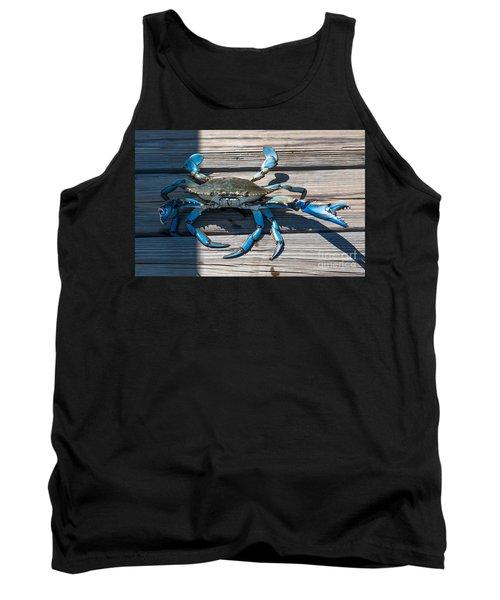 Blue Crab Pincher Tank Top