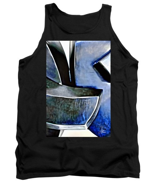 Blue Iron Tank Top by Joan Reese