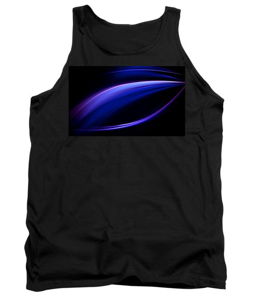 Blue Purple Light Tank Top