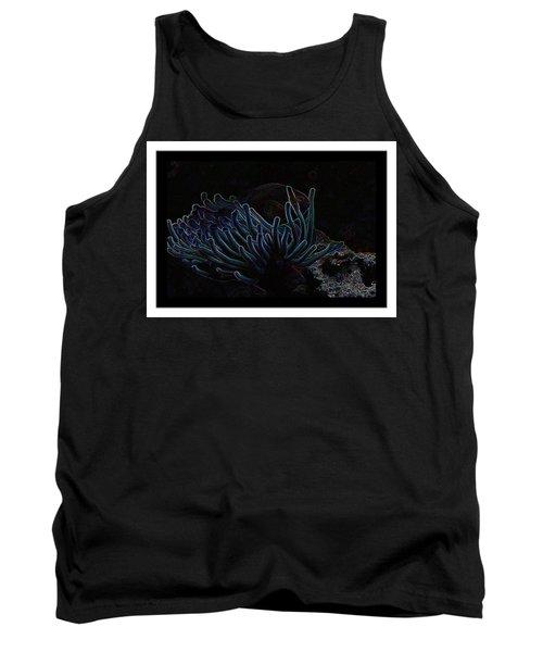 Blue Magic Light Fish  Tank Top
