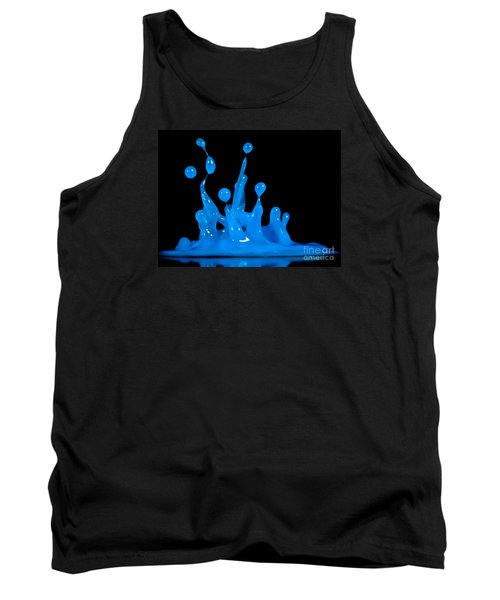 Blue Man Group Tank Top by Anthony Sacco