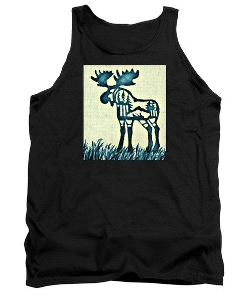 Blue Moose Tank Top