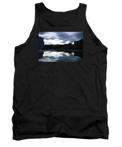 Blue Visions 1 Tank Top by Teo SITCHET-KANDA