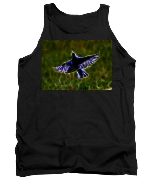 Bluebird In Flight Tank Top