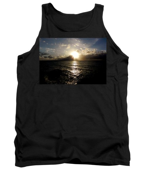 Tank Top featuring the photograph Blues @ Evening by Amar Sheow