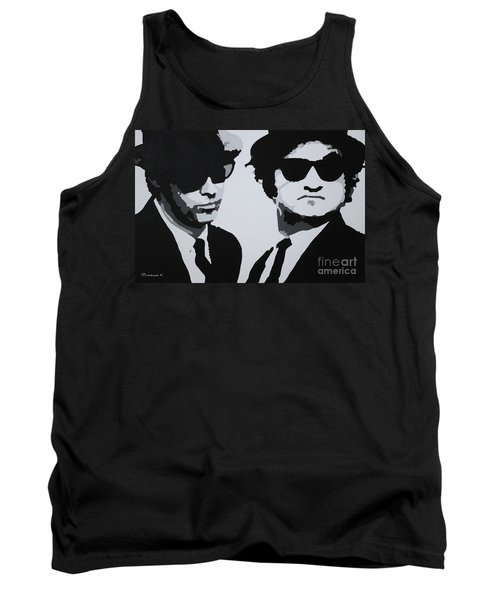 Blues Brothers Tank Top by Katharina Filus