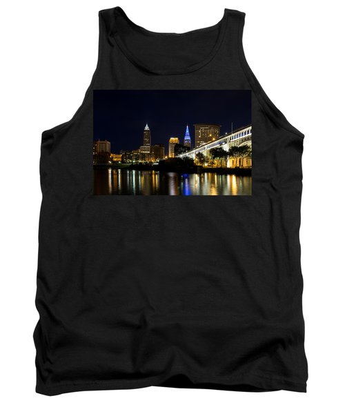 Blues In Cleveland Ohio Tank Top