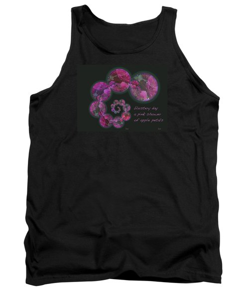 Tank Top featuring the photograph Blustery Day Haiga by Judi and Don Hall