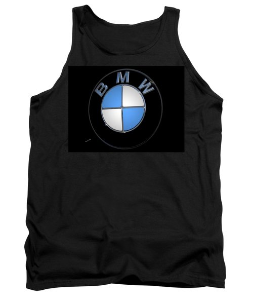 Bmw Emblem Tank Top by DigiArt Diaries by Vicky B Fuller