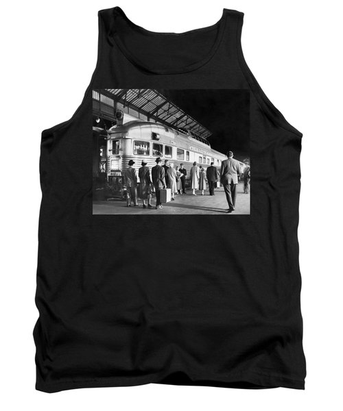 Boarding The California Zephyr Tank Top