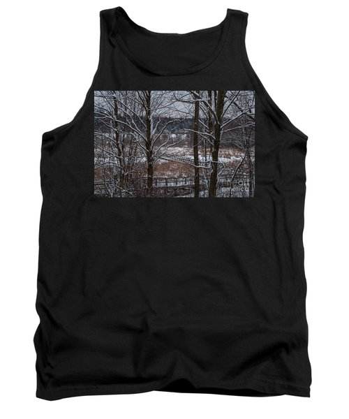 Tank Top featuring the photograph Boardwalk Series No3 by Bianca Nadeau