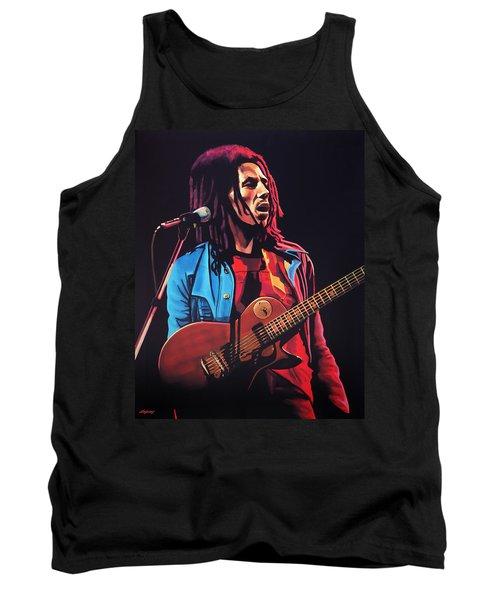 Bob Marley 2 Tank Top by Paul Meijering