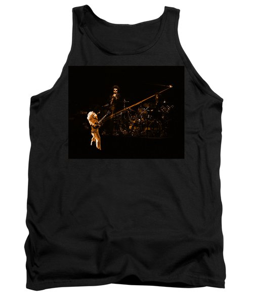 Boc #4 Lasers In Amber Tank Top