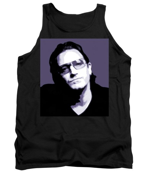 Bono Portrait Tank Top by Dan Sproul