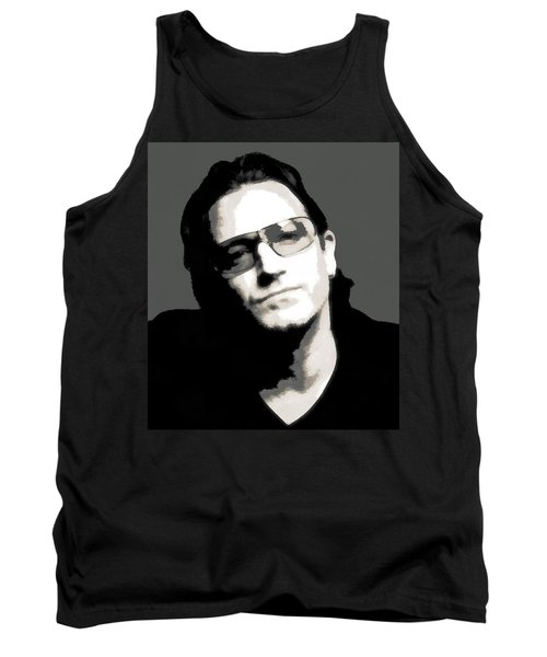 Bono Poster Tank Top by Dan Sproul