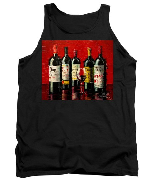 Bordeaux Collection Tank Top