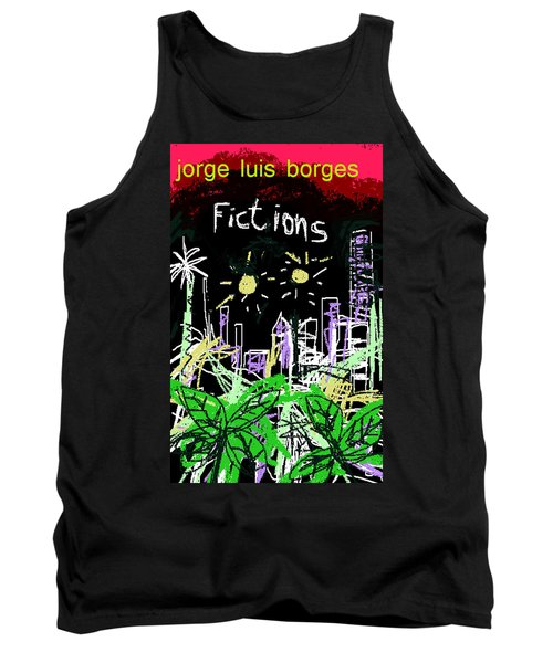 Borges Fictions Poster  Tank Top