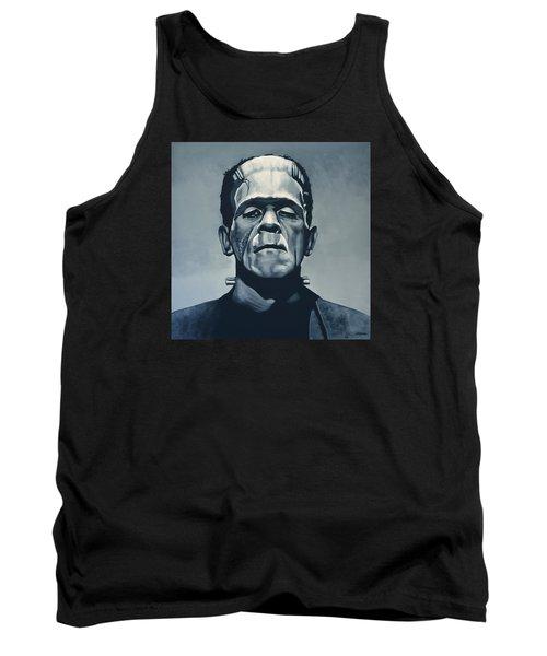 Boris Karloff As Frankenstein  Tank Top by Paul Meijering
