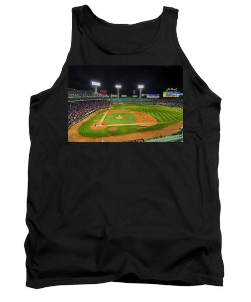 Boston Red Sox And New York Yankees At Fenway Park - Art Tank Top