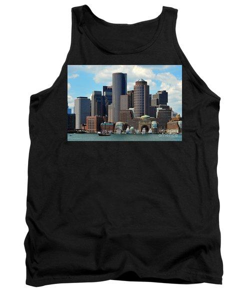 Tank Top featuring the photograph Boston Skyline by Randi Grace Nilsberg