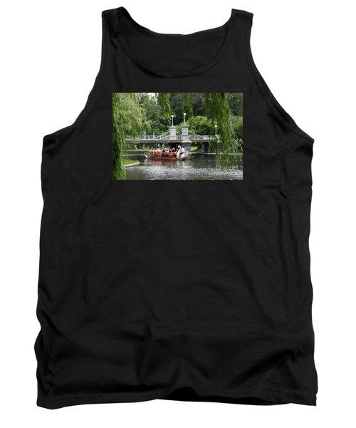 Boston Swan Boat Tank Top by Christiane Schulze Art And Photography