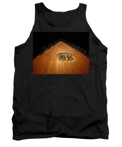 Tank Top featuring the photograph Bowed Psaltery by Greg Simmons