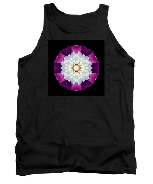 Bowl Of Beauty Peony II Flower Mandala Tank Top
