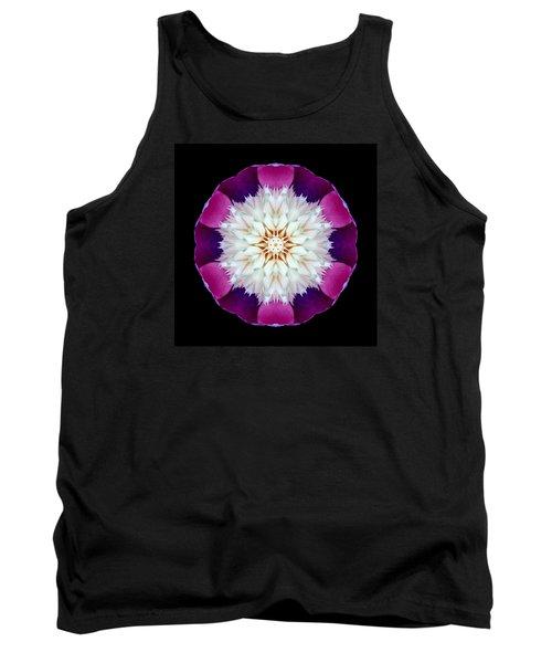Bowl Of Beauty Peony II Flower Mandala Tank Top