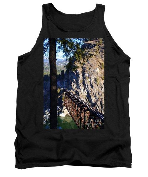 Box Canyon Dam Railroad Crossing Tank Top