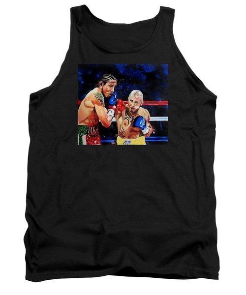 Boxing Tank Top by Raymond Perez