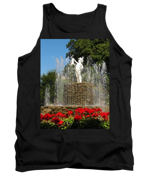 Boy With The Boot 3 Tank Top