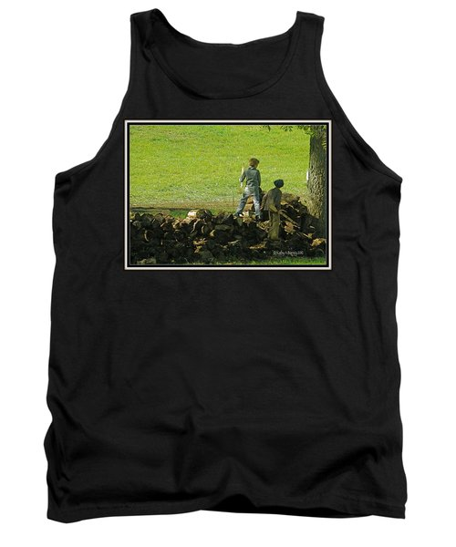 Boys Will Be Boys Tank Top by Kathy Barney