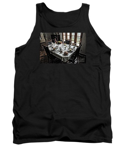 Downton Abbey Breakfast Tank Top by The Art of Alice Terrill